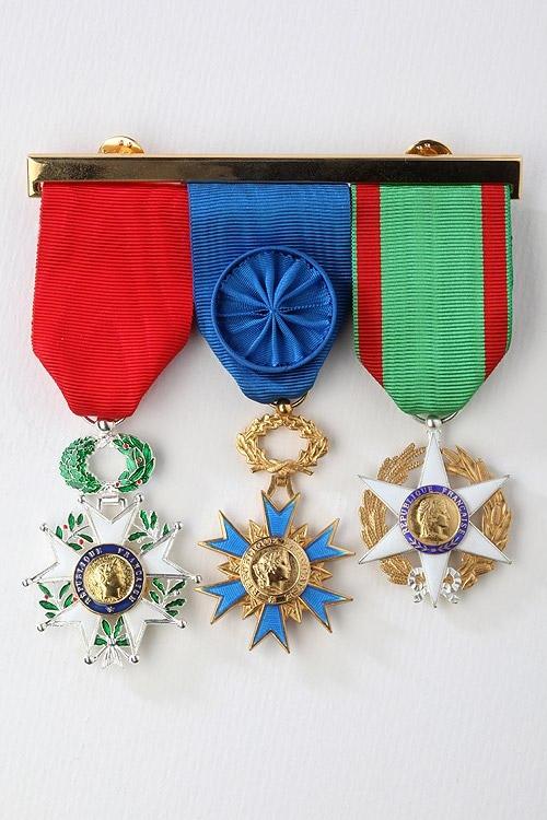 Porte Médailles Décorations Militaires Barrette Et 6X8a8vxn